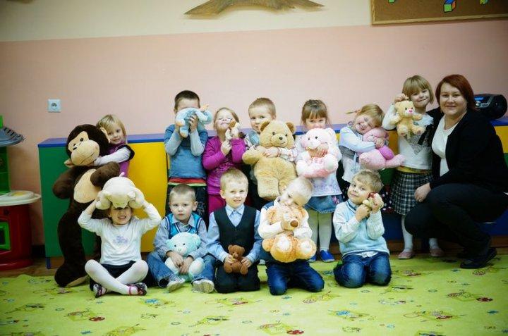 miś i przedszkolaki